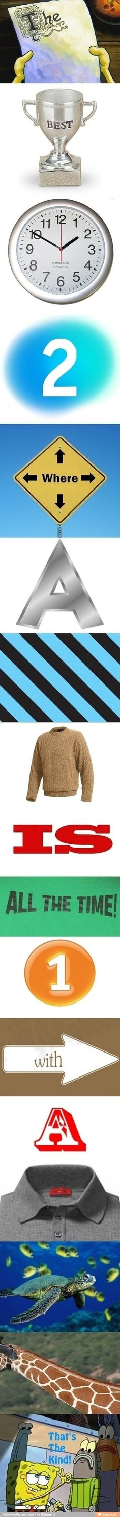 The best time to wear a stripped sweater...is all the time!