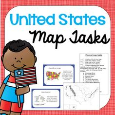 U.S. Map Tasks by White's Workshop | Teachers Pay Teachers