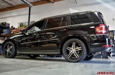 Gorgeous Mercedes GL 450 with Vossen Wheels