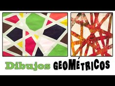 Cuadro abstracto geométrico - YouTube