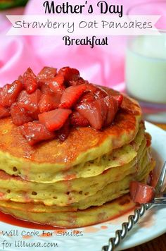 Strawberry Oat Panca