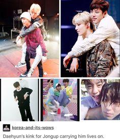 Me too tho!  I lowkey am a hardcore DaeUp shipper lol   #bap #bapfunny #funnybap #DaeUp #Daehyun #jungdaehyun #jongup #moonjongup #kpop #babyz #kpopfunny #funnykpop