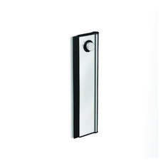 The Designer blade for wiping down your shower. Slides on and off the minimalist wall bracket Stainless steel construction wide wiper blade