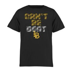 Long Beach State 49ers Youth Can't Be Beat T-Shirt - Black - $17.99