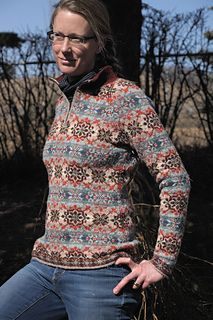Ravelry: tanyaev's fair isle collared pullover