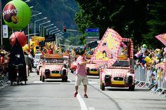 photo22/07/2016 Tour de France 2016 - 22/07/2016 - Etape 19 - Albertville / Saint-Gervais Mont Blanc (146 km) - Départ de la caravane Cochonou