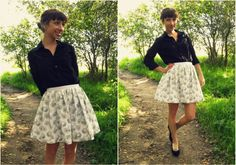 DIY skirt...I want to try this!