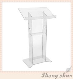 Free Shipping Modern Acrylic Pulpit , Acrylic Pulpit, Stylish 2016 Acrylic Church Pulpit