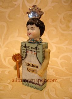assemblage art dolls - Google Search