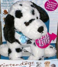 Nintendogs Dalmatian Plush by Commonwealth Toy  amp  Novelty Co.  25.00.  Dalmation will howl 78ae3da572da