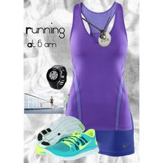 """Running!!!!"" by redglassesgirl on Polyvore,$49 blue volt nike free 5.0, site for full of nikes 60% off"
