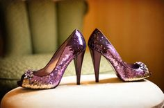 mmm...purple shoes