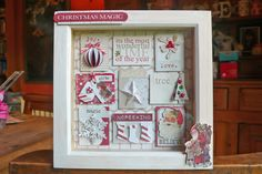 Teresa Collins, Santa's List box frame