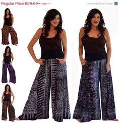 20% OFF JAN SALE I175 Stretched Waist Wide by LotusTradersClothing