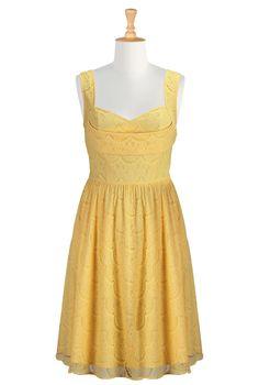 Floral Print Cotton Dresses