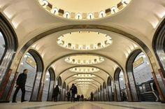 Stazione Metropolitana di Mosca - Cerca con Google