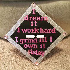 Beyoncé inspired graduation cap. #ISlay