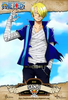 One Piece - Sanji by OnePieceWorldProject.deviantart.com on @deviantART