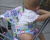 Sewing Pattern - Shopping Cart Support Cushion and Portable High Chair for Baby