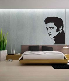 Shoply.com - Elvis Presley The King Wall Stickers  . Only £24.99