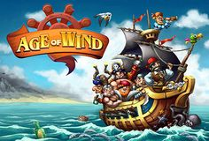 Sail the seven seas with Age of Wind a pirate inspired Choose your journey on this epic voyage and build your fleet while you search for treasures untold. The game is available for iOS, Android, and Windows. Are you ready to walk the plank? Latest Ios, Latest Iphone, Pirate Games, Walking The Plank, Pixar Movies, Android, Game App, Games To Play, Sailing