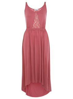 Pink Lace Back Bodice Maxi - View All - Dress Shop - Miss Selfridge US
