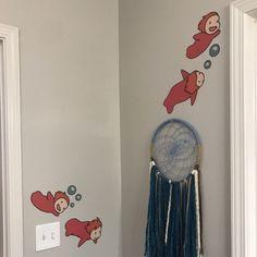 Wall Collage, Wall Art, Otaku Room, Wall Appliques, Room Wall Painting, Studio Ghibli Art, Aesthetic Room Decor, Totoro, My Room