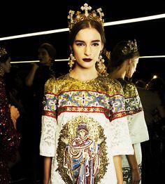 sarahstylesyourlife » Dolce & Gabbana Fall Winter 2014