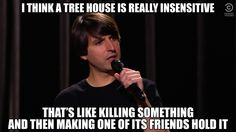 """comedycentralstandup: """" Your Joke of the Day from Demetri Martin. Watch the full clip here. """""""