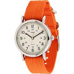 Timex Weekended Slip Through Full-Size Orange - Zappos.com Free Shipping BOTH Ways