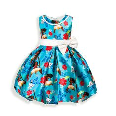 Baby Girl Clothes Dresses Toddler Girls Cartoon Cotton Sleeveless Dress with Beading Exquisit girl dresses for Party and Wedding