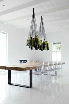 Retrouvez la chaise transparente un beau bijou pour votre intérieur