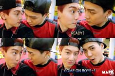Mark and Jackson on Episode 10 of Real GOT 7