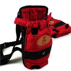 S/M/L Size Portable Pet Dog Carrier Travel Bag Pet Dog Front Bag Mesh Backpack Head Out Double Shoulder Pet Carrier Backpack