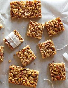 Paleo Honey Nut Bars Recipes