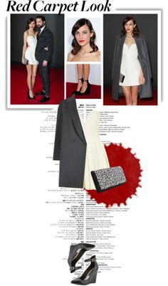 """""""Real Queen of Red Carpet: Alexa Chung"""" by putricp on Polyvore"""