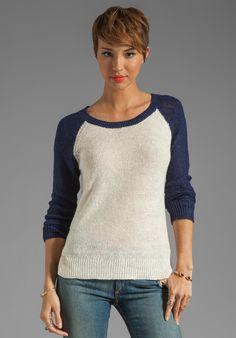 Splendid Coastal Linen Sweater