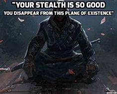 Amazing Stealth - D&D shenanigans