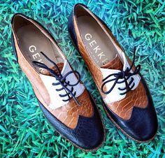 Zapatos acordonados en punta de Gekke #ShoeHunter