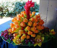 Brochette fruits