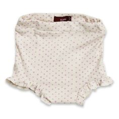 Ruffle Bum Cover Lavender Dot - $22.00  Adorable cover with all over print.