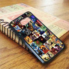 Marvel Super Hero Collage Samsung Galaxy S6 Case