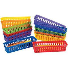 Classroom Pencil & Marker Baskets / 12 PC