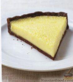 Рецепт: Лимонный пирог на RussianFood.com