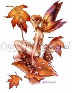 S inception female fairies фея, эльфы, фэнтези. Fairy Dust, Fairy Land, Fairy Tales, Magical Creatures, Fantasy Creatures, Dragons, Kobold, Autumn Fairy, Fairy Gifts