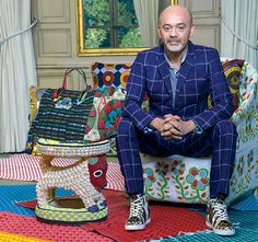 On Christian Louboutin's Collaboration to create a new bag range in Senegal