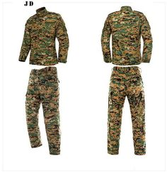 Multicam Black Military Uniform Camouflage
