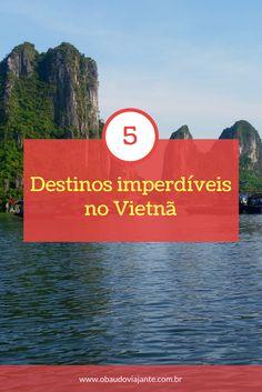 Já pensou em viajar para o Vietnã? O país tem atrações naturais e culturais incríveis. Descubra quais são as 5 cidades vietnamitas que não podem ficar de fora do seu roteiro de viagem.