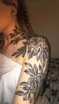 rose tattoo blossoms
