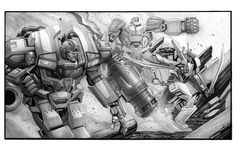 The Bad Flip Blog: Ironhide and the Wrecking Crew...